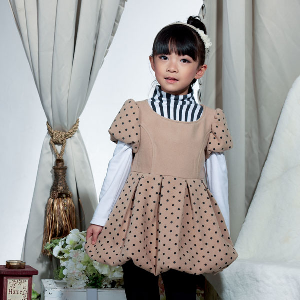 Kids Clothing Manufacturer Girl Winter Dress Children Clothes Online