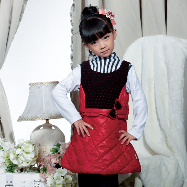 Latest Baby Girls' Winter Dress Childrens Fashion Clothing