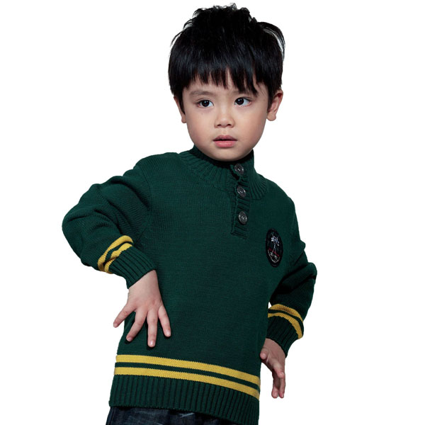 Experienced kids clothing manufacturer boys sweater