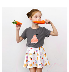 New Arrival Girls Summer Skirts & Top with High Quality