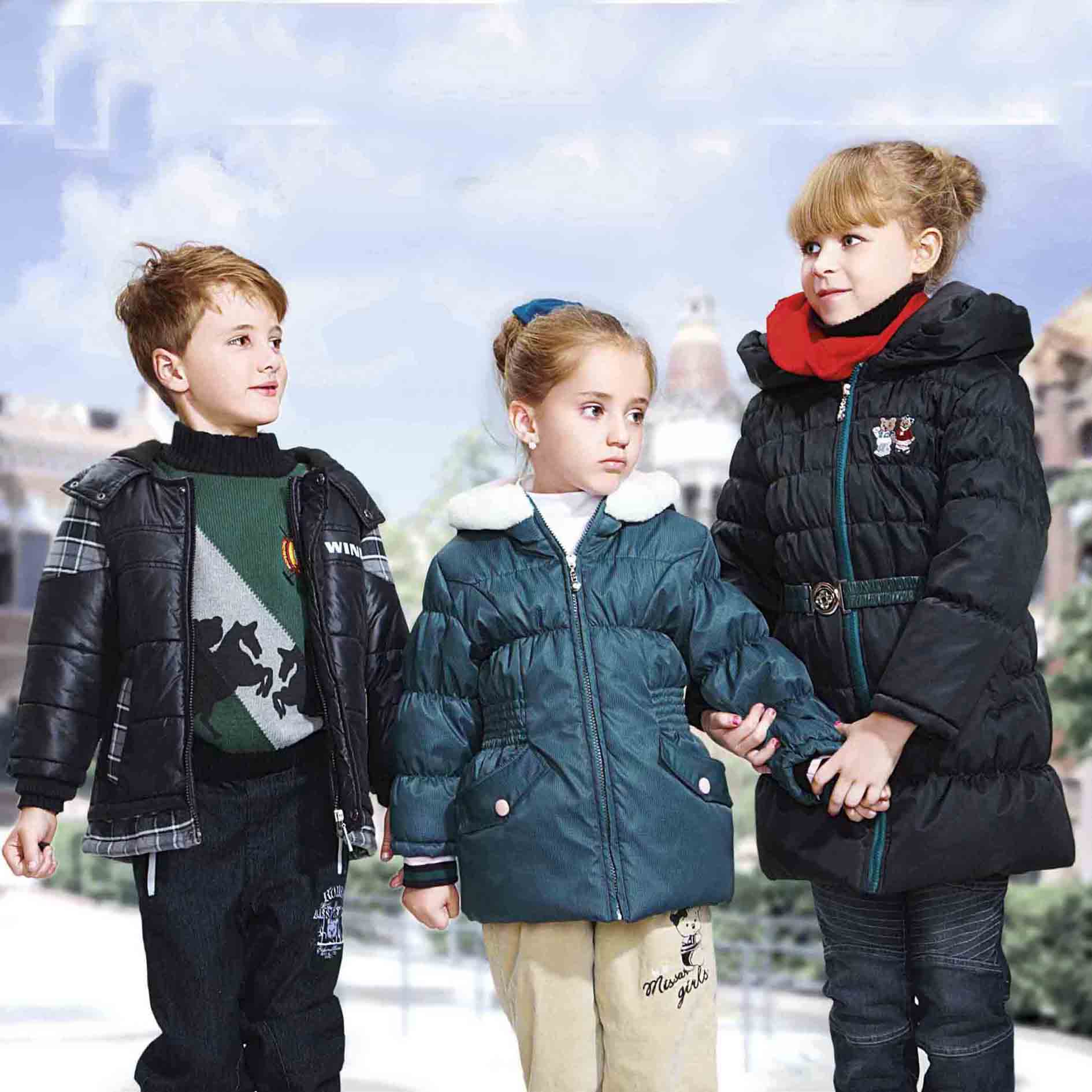 children coat baby clothes for winter