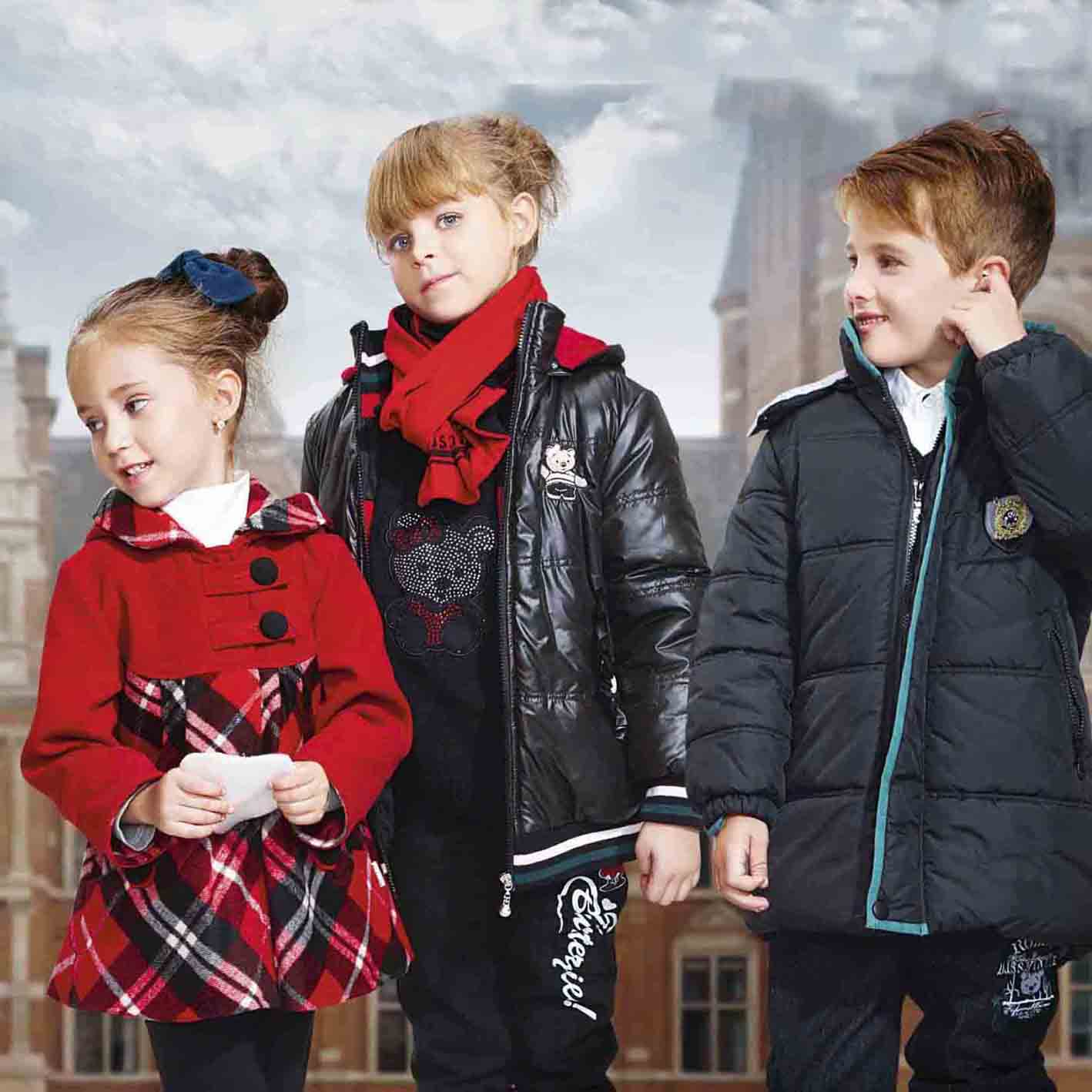 Customized children clothing 2016 kids fashion design coat