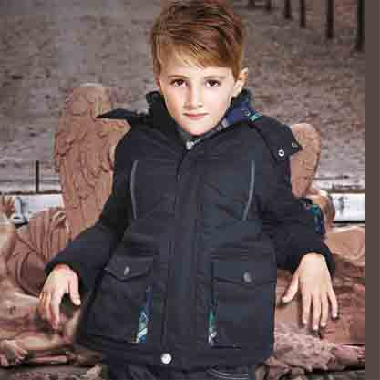 Autumn new design little boy children cotton coat