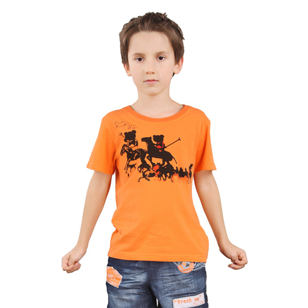 Wholesale Kids Clothes New Model T Shirts Baby Boy Printing T Shirt