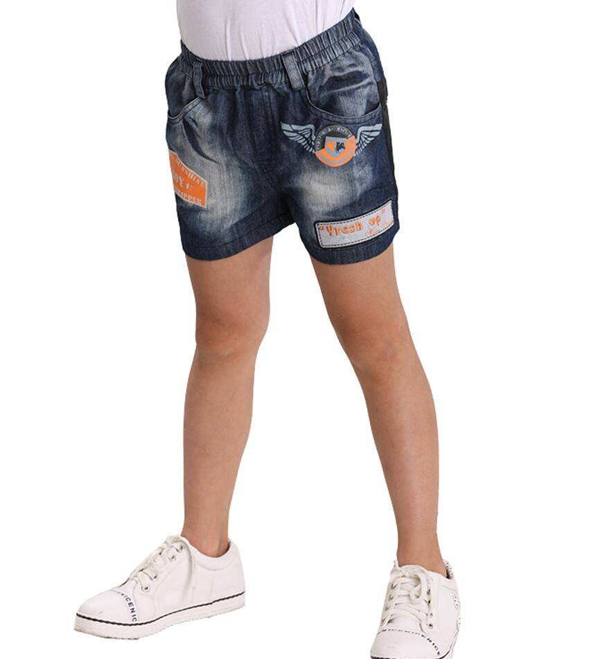 Boys Denim Short Jeans Jeans Shorts for Boys Custom Kids Clothing