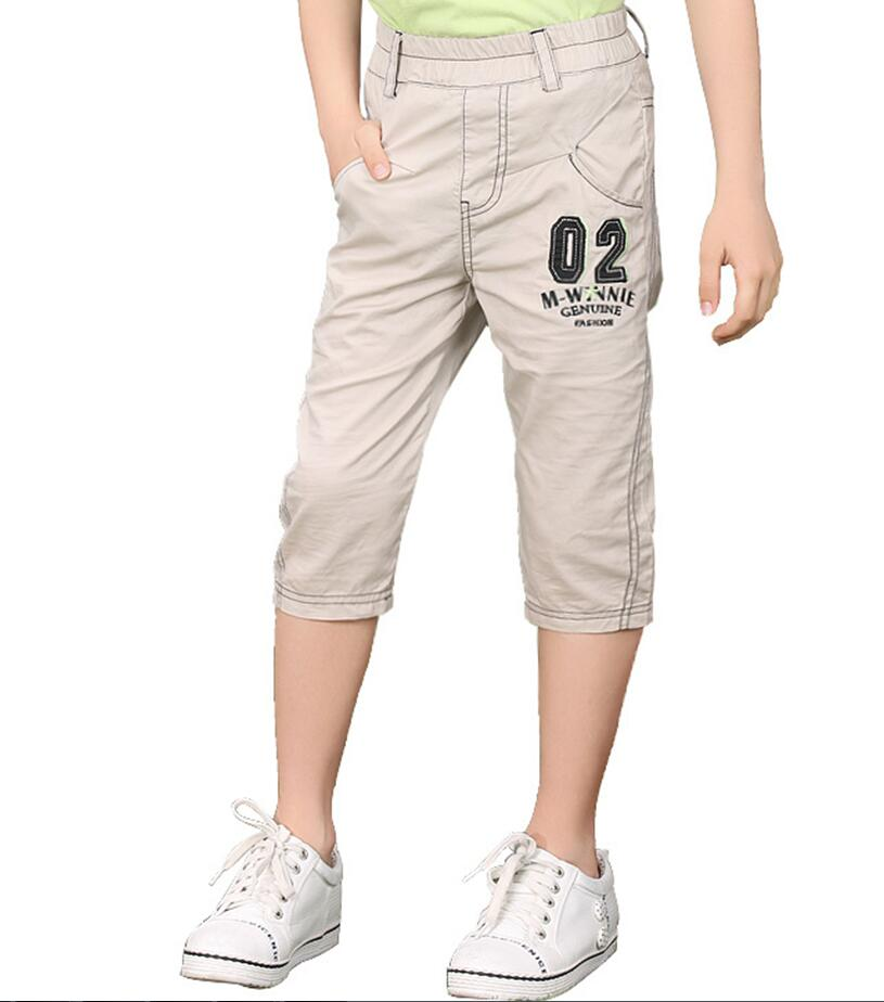 Boys Cotton Midi Pants