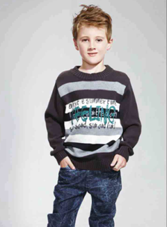 Brand kids sweaters latest customized fashion sweaters for boys