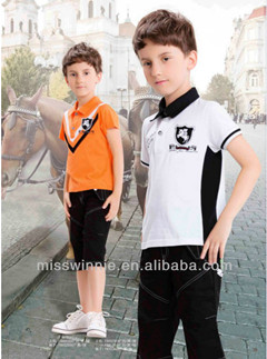 Miss Winnie Customized Children's Clothing Boys Summer Set