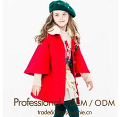 OEM New Fashion Kids Winter Coats for Girls