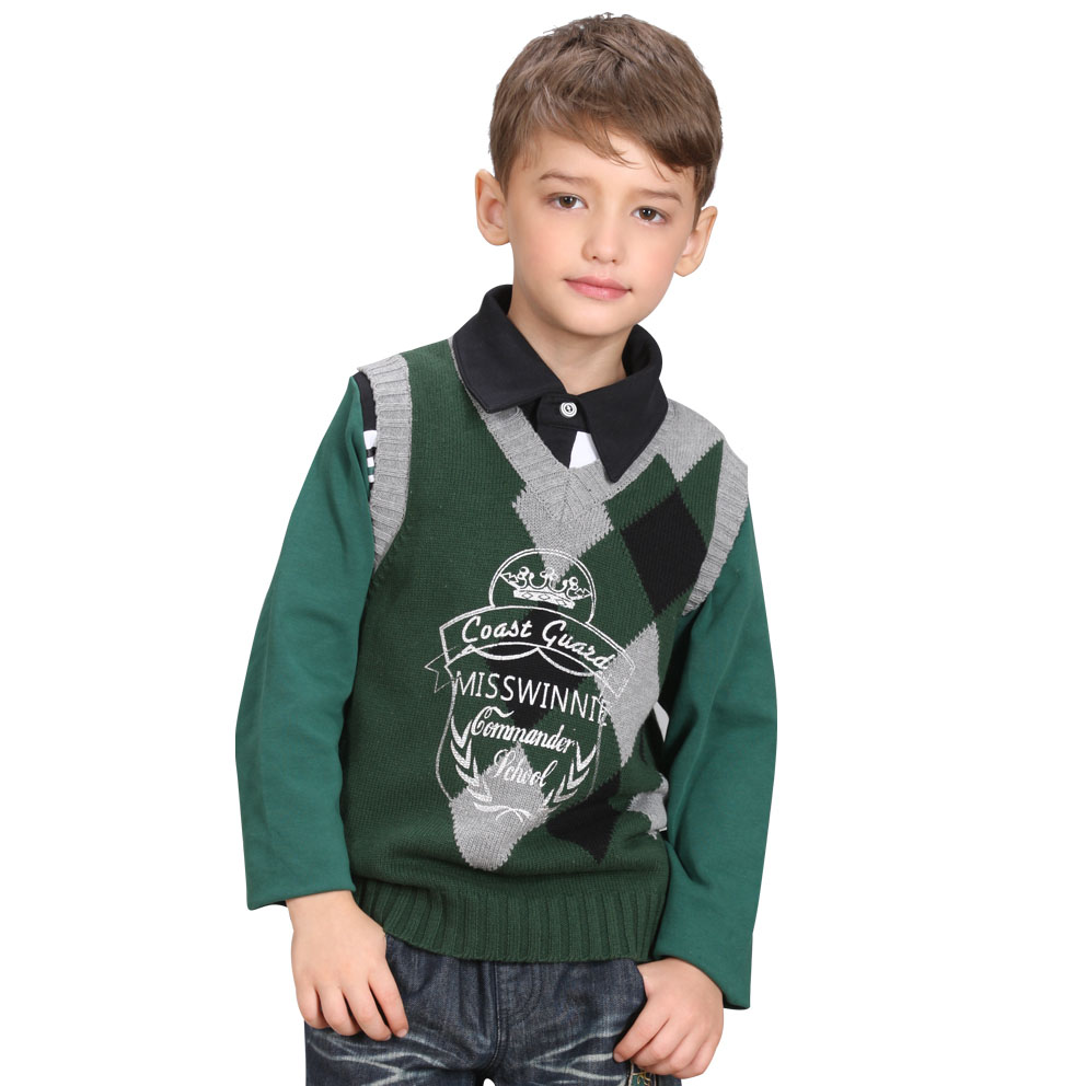 Specialized Kids Clothing Suppliers Long Sleeve Autumn Boys Sweater