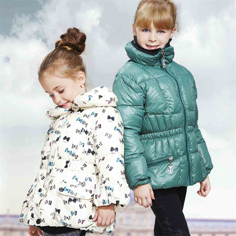 Kids Clothes Factory Girls Winter Coat Terrific Children's Thermal Clothing