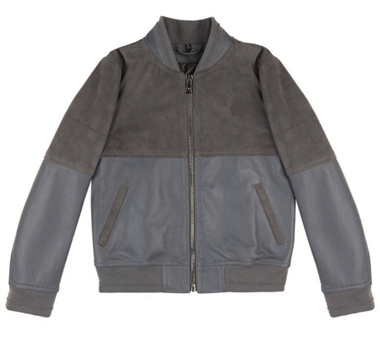 Boys Thin Jacket Double Color Stitching