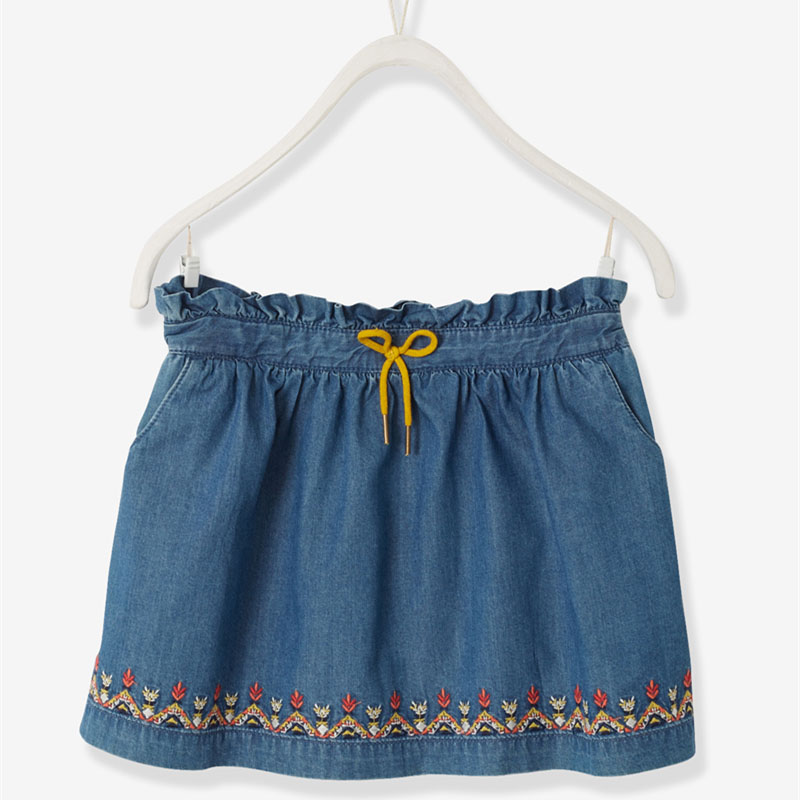 Kids Denim Skirt Skorts for Girls Designer Clothes for Children