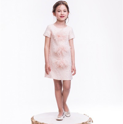 Unique Children's Clothing Latest Girls Linen Cotton Frocks