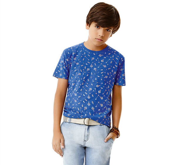 Trendy Kids Clothes New Fashion Children T-shirt for Boys