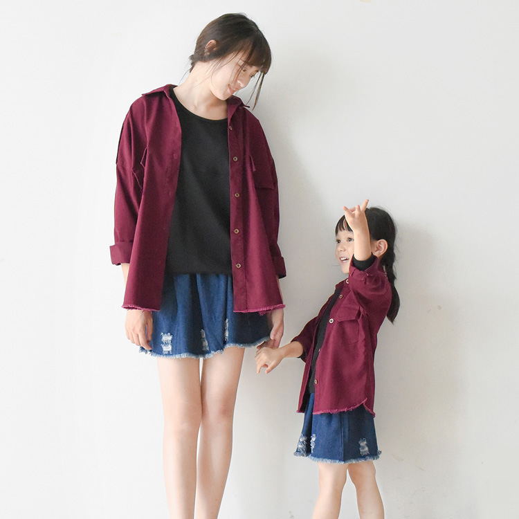 Customized Family Clothes Trendy Matching Mother Daughter Outfits