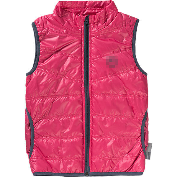2017 Chic Red Down Vest for Girls Children Waistcoat Factory