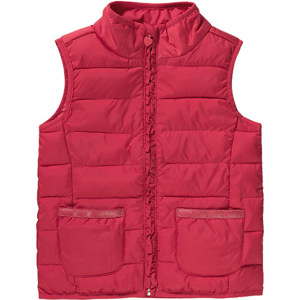 Multi-brand Kids Fashion OEM Stand Collar Warm Vest for Girls