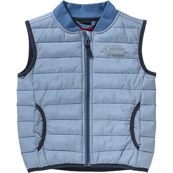 New Fashion 2017 OEM Branded Quilted Outdoor Vests for Boys