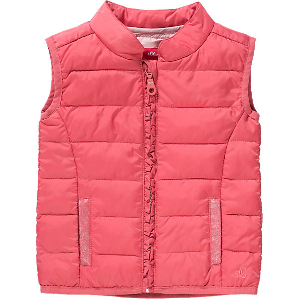 Baby Quilted Vest for Girls