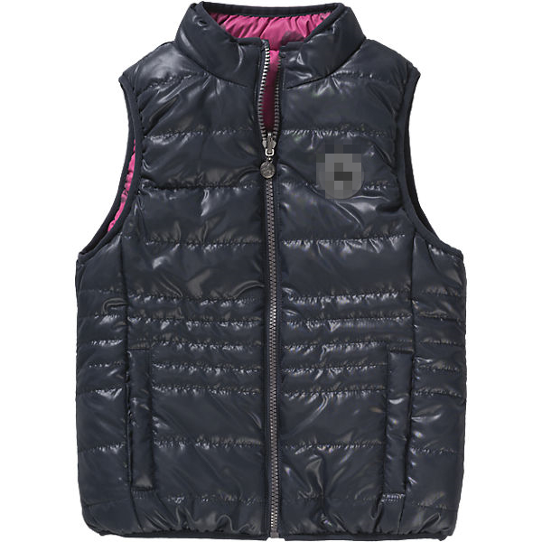 Reversible Designer Vest for Girls from Children Waistcoat Supplier