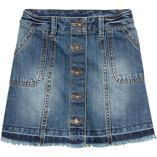 Summer Children Fashion Frocks Bulk OEM Orders Jeans Skirt for Girls