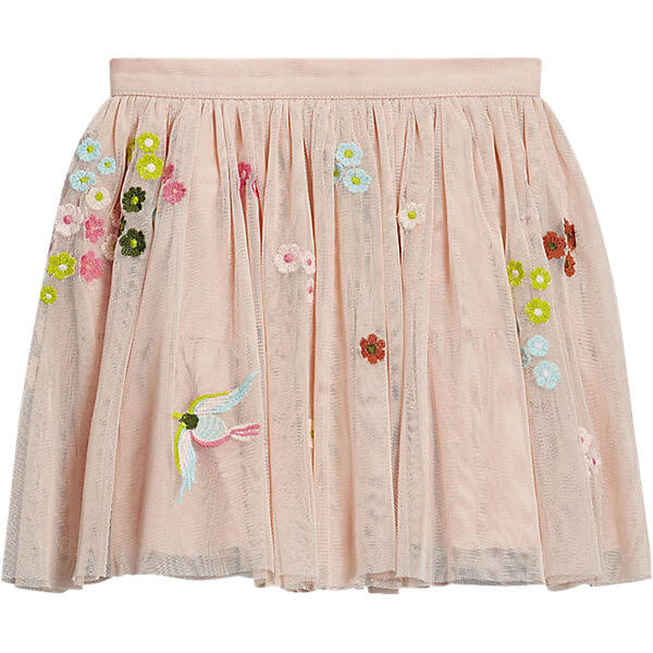 2017 Trendy Kids Tulle Embroidery Skirt Baby Girls Fashion Clothing