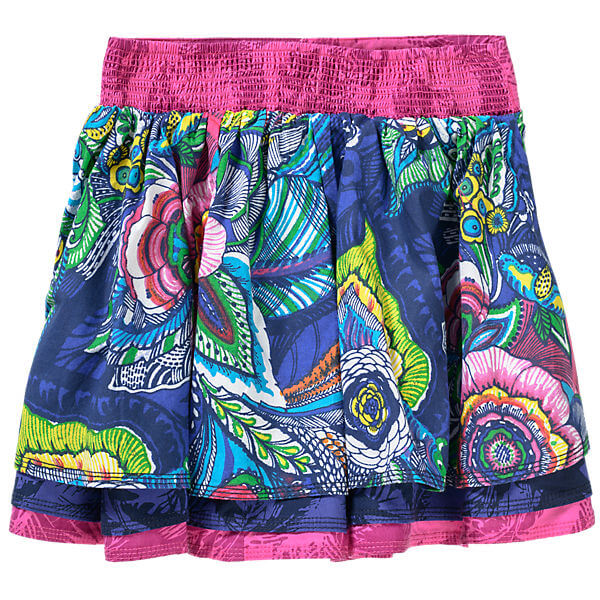 Beautiful Graphic Prints Gilrs Skirt Trendy Kids Fashion Clothes