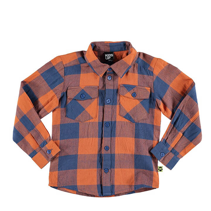 Kids Fashion Clothes Plaid Shirts for Boys Designer Kids Wear