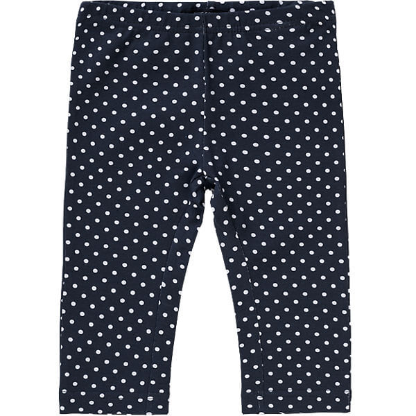 Polka Dot 3/4 Cotton Leggings for Girls New Fashion Childens Pants