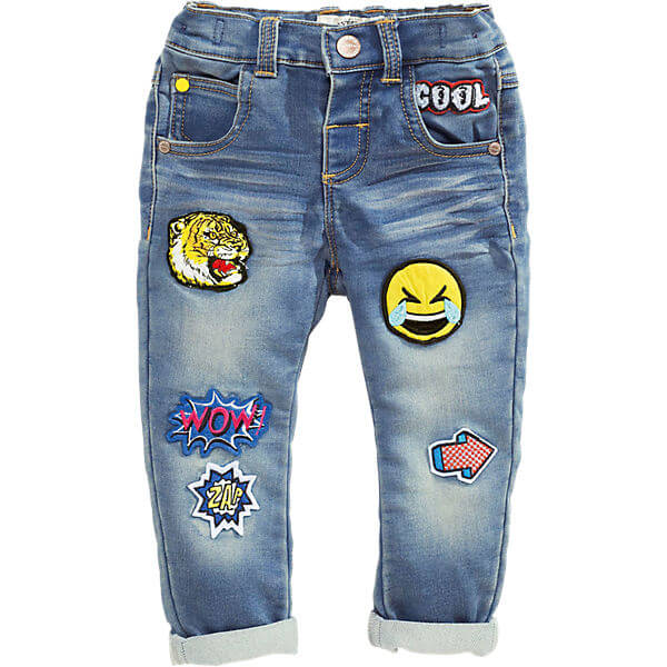 Children's Jeans with Elastic Waistband Jeans for Boys