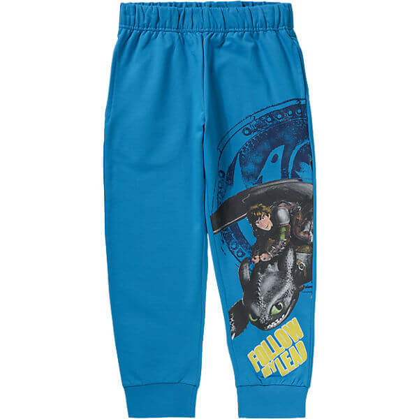 Dragons Jogging Bottoms for Boys Childrens Navy Tracksuit Pants