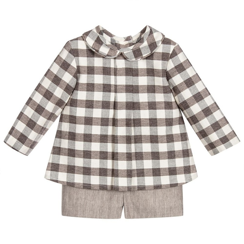 kids clothes 2018 outfit for girls of 7 years baby girls summer outfit plaid