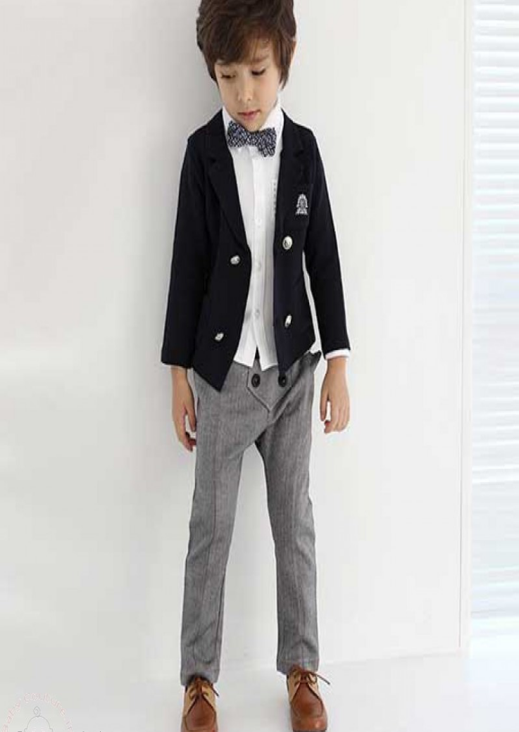 kids clothing Dashing Boys Blazer Pants Set