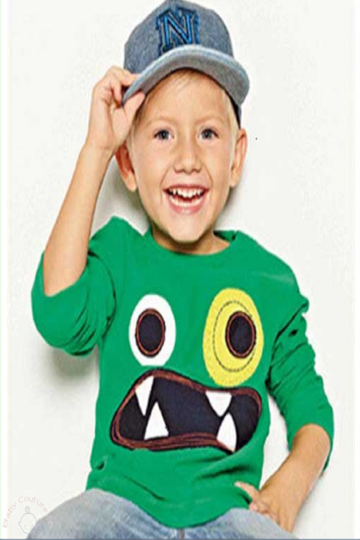 Monster Boy T-shirt kids clothing
