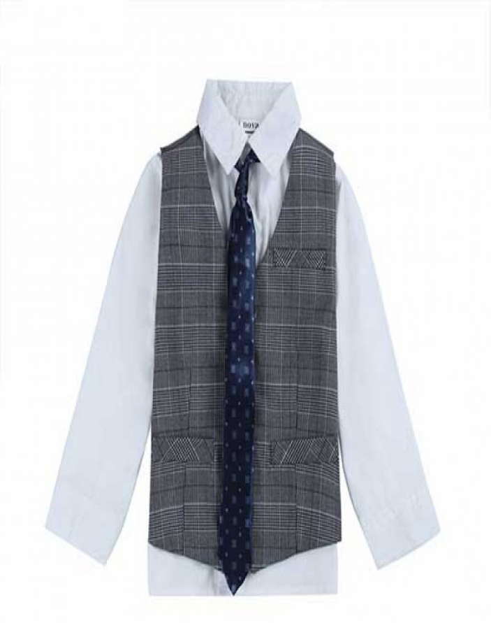 Stylish Boy Tie & Vest Set 2