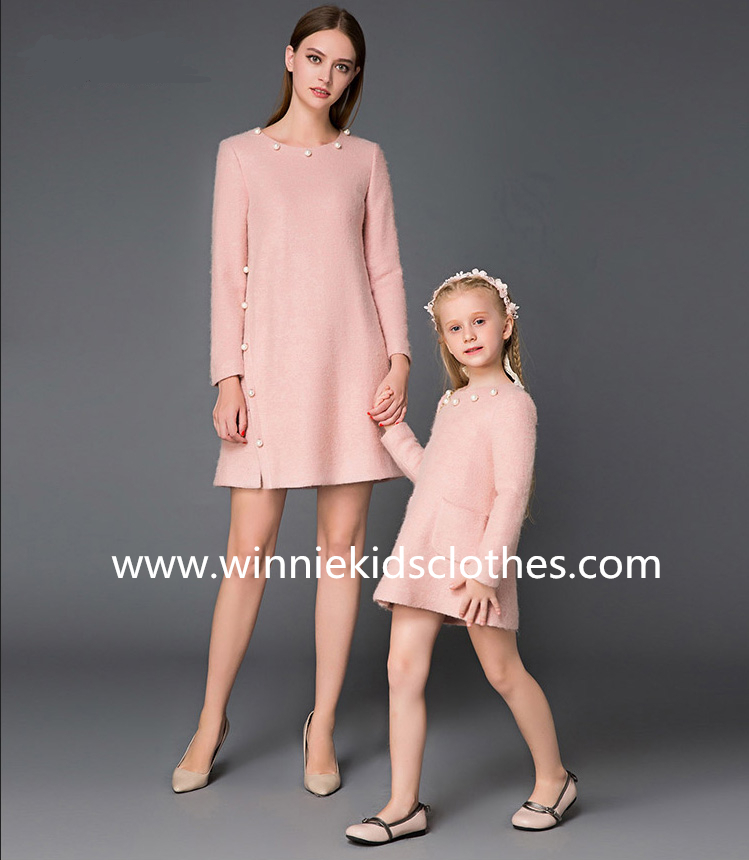 family clothing for mother and daughter