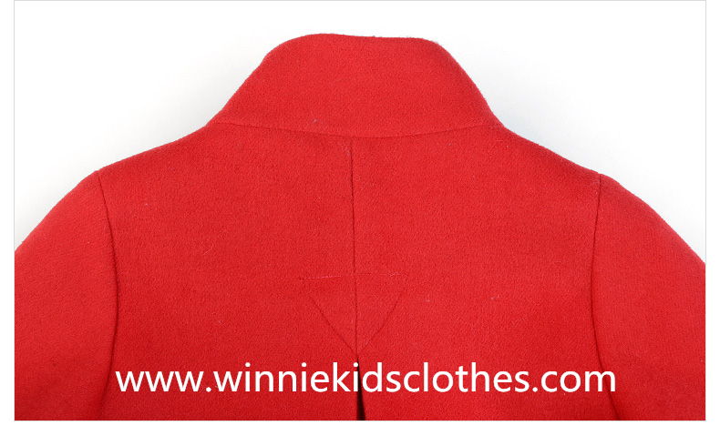 family woolen coat back part