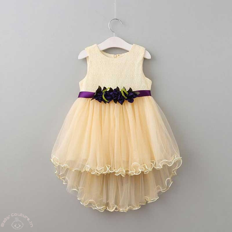 lovely high low kids dress