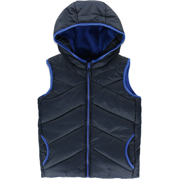 marine vest with fleece lining for boys