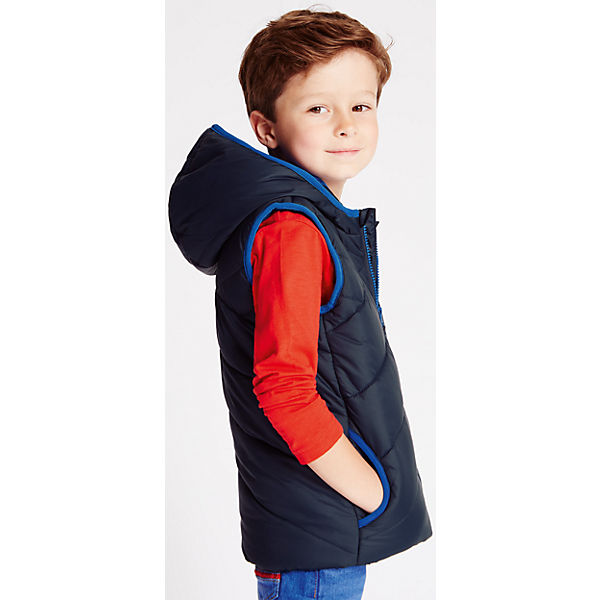 marine vest with fleece lining for boys 3