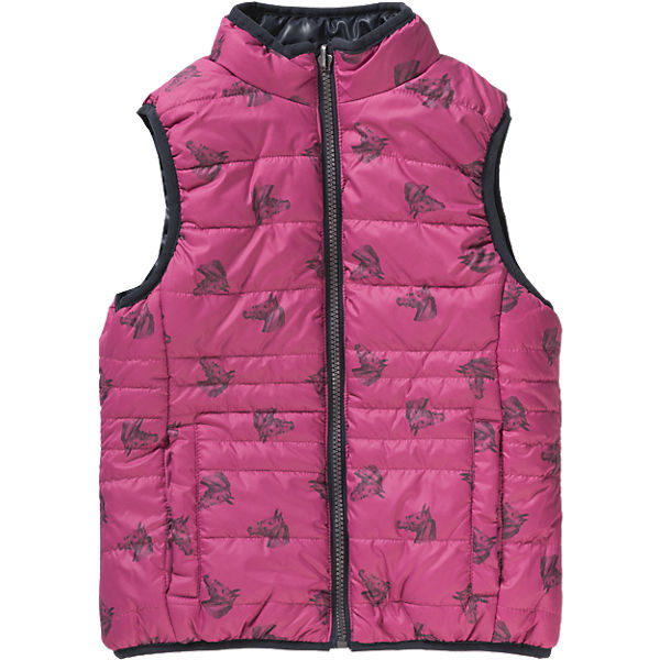 girls reversible designer vest