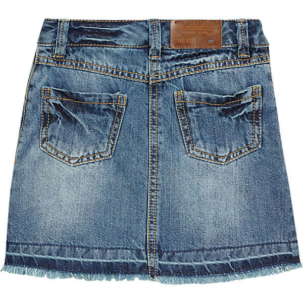 kids short jeans skirt girls summer fashion back