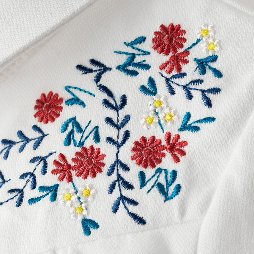 Stylish Shirts for Girls Embroidery Details