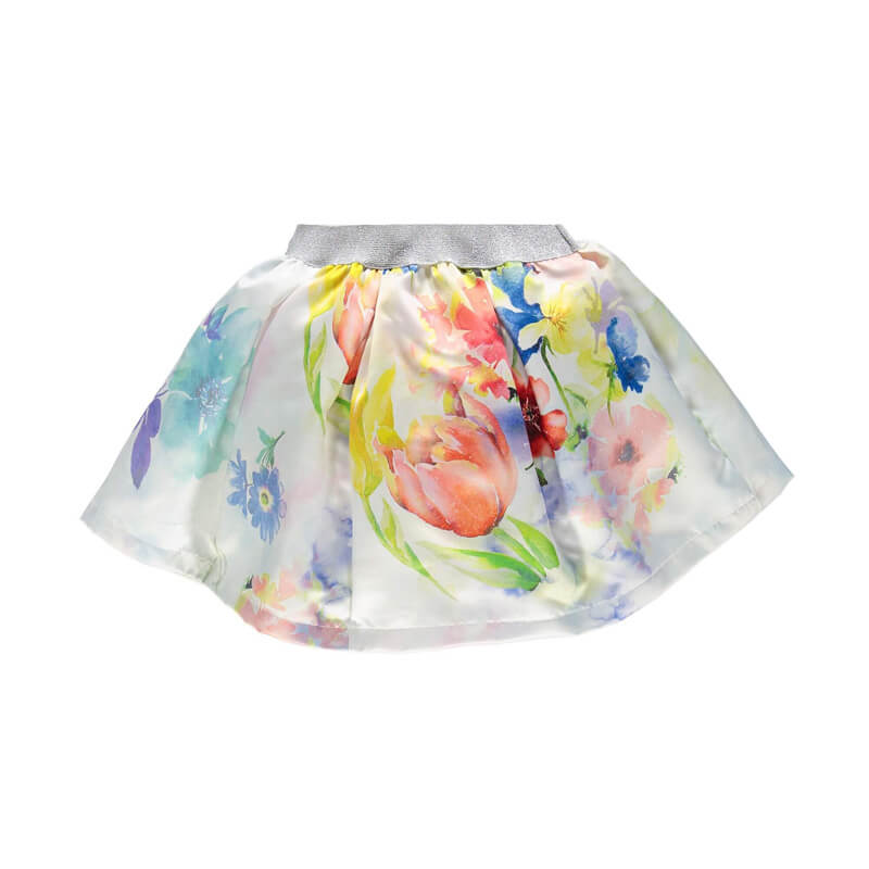 Short Floral Skirts for Girls Online Shopping for Kids Clothes Back