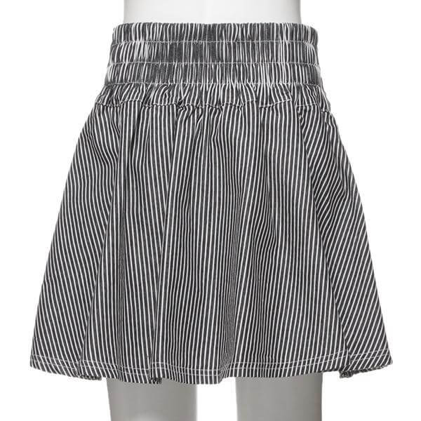 Baby Girl Designer Flare Skirt with Six Buttons Fashion Kids Clothes Back