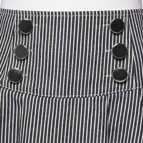 Baby Girl Designer Flare Skirt with Six Buttons Fashion Kids Clothes Details