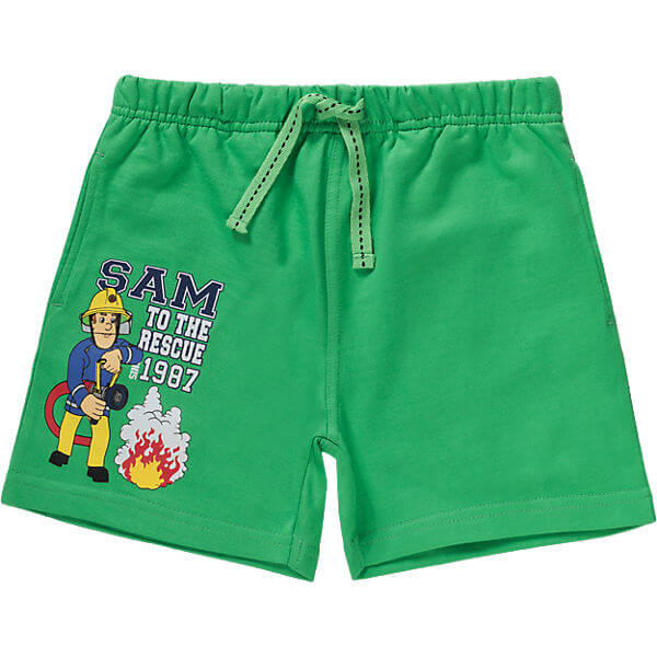 2017 Latest Stylish Kids Clothing Boys Cotton Pull Up Shorts green