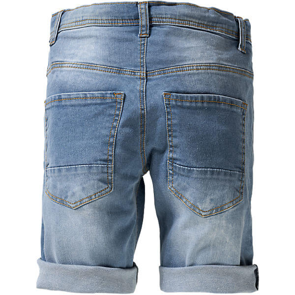 Vintage Style Jeans Shorts for Boys Children's Fashion Clothing Back