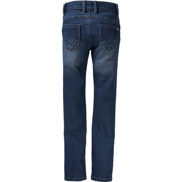 Latest Kids Elastic Waist Branded Denim Skinny Jeans for Girls back